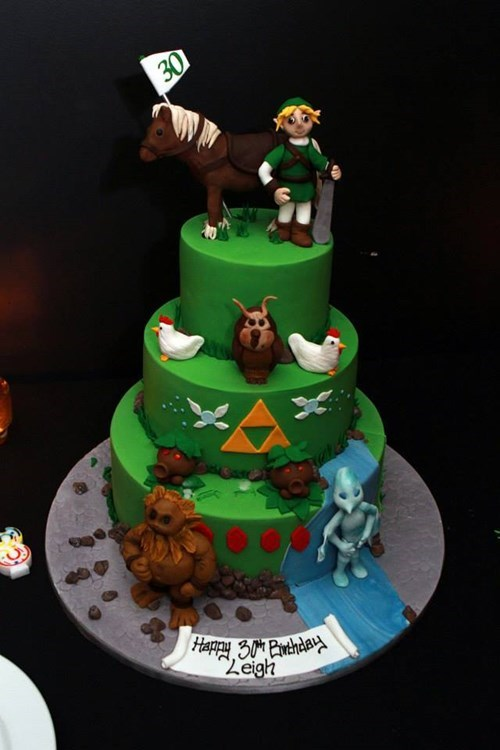 cake legend of zelda noms - 8378609664