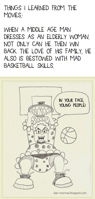 movies,robin williams,basketball,mrs doubtfire,web comics