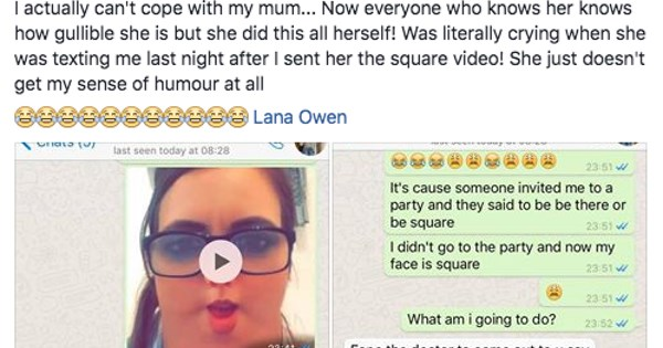 snapchat trolling moms parenting texting mom