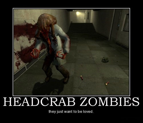 headcrabs,love,funny