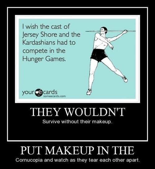 makeup,hunger games,funny