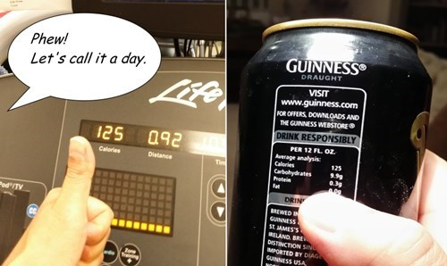 beer exercise guinness funny - 8379469568
