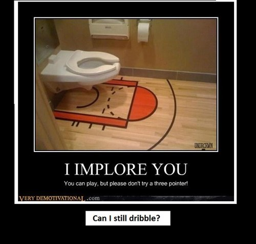 toilet basketball funny