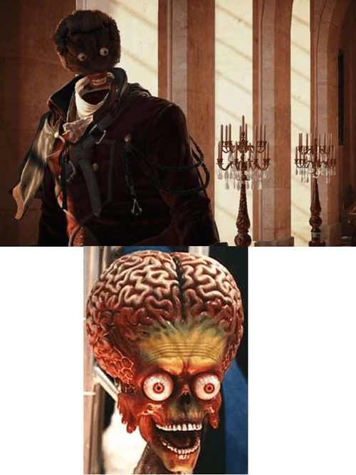 assassin's creed unity mars attacks ack ack ack glitches