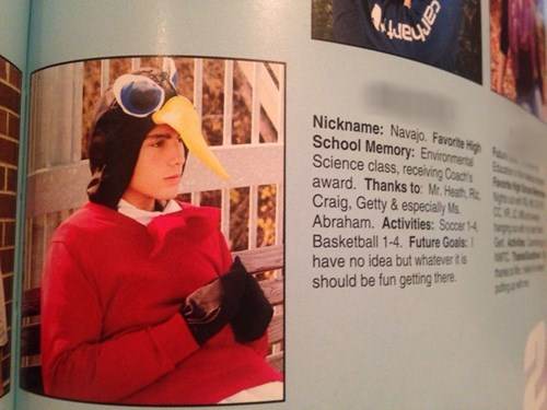 costume yearbook penguins funny - 8379799552
