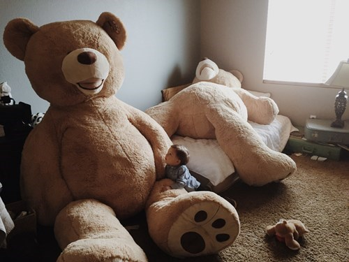 teddy bear,kids,giant,parenting,huge
