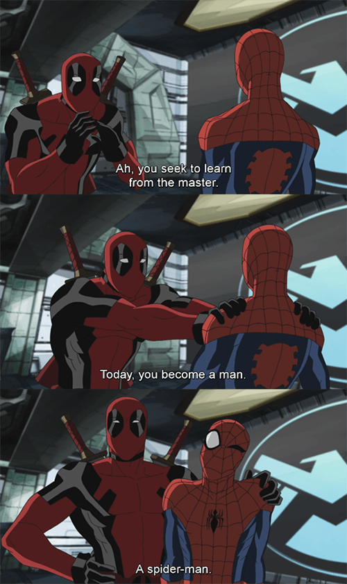 deadpool Spider-Man - 8379906816