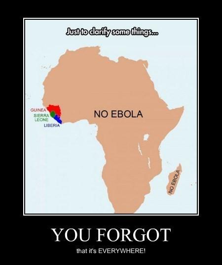 africa fear ebola funny - 8379946240