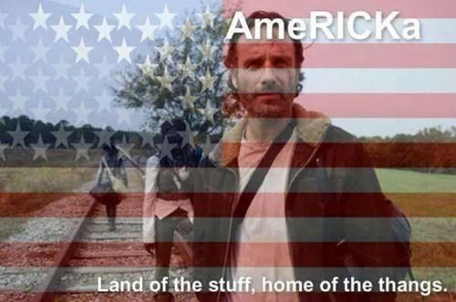 Rick Grimes stuff and things america - 8379953408
