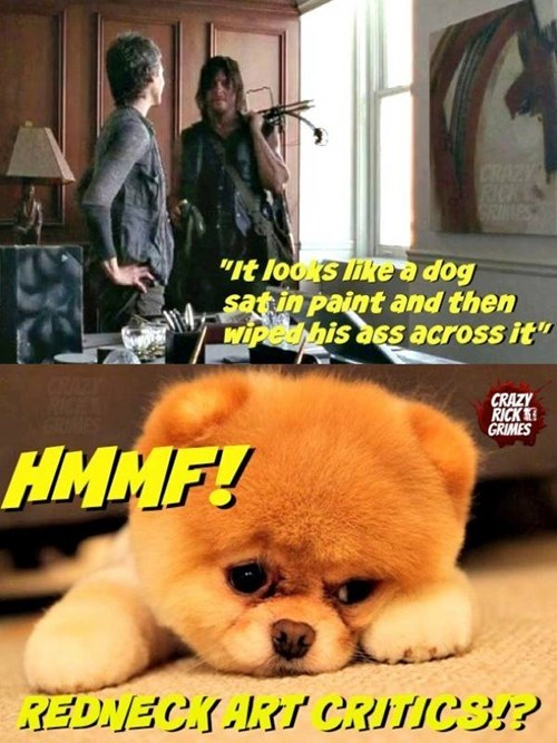 dogs everyones-a-critic daryl dixon - 8379982336