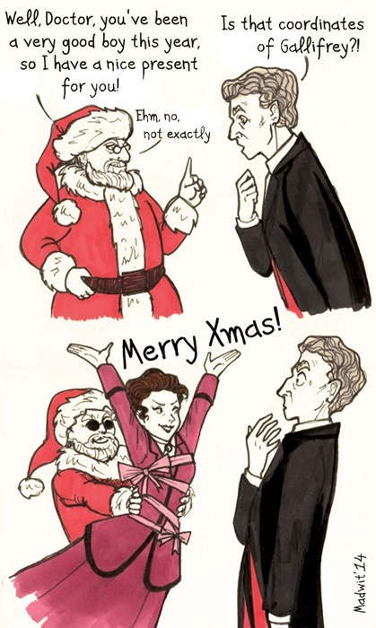 christmas missy 12th Doctor - 8380000768