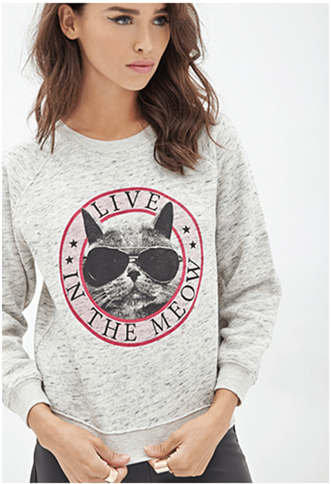 poorly dressed sweatshirt puns Cats g rated - 8380001536