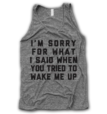 poorly dressed tank top sorry g rated - 8380002816
