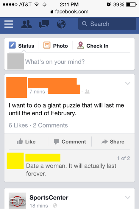 men,puzzle,funny,women,g rated,dating