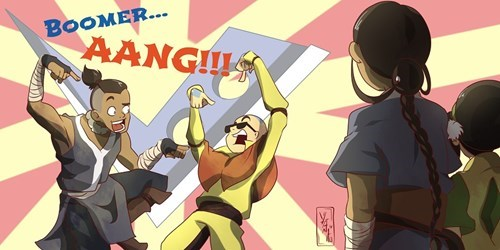 Fan Art Avatar the Last Airbender puns - 8380066816