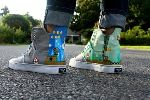 shoes,snes,NES,mario