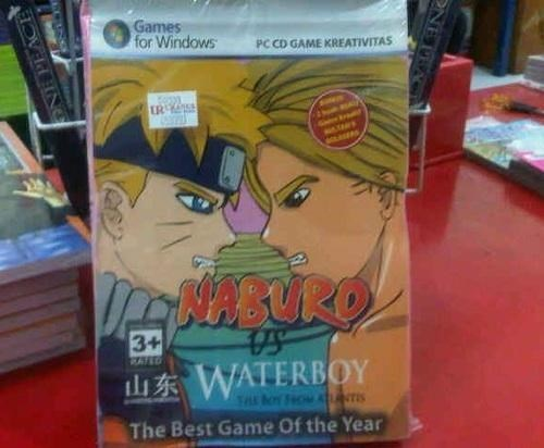 engrish naruto knockoff