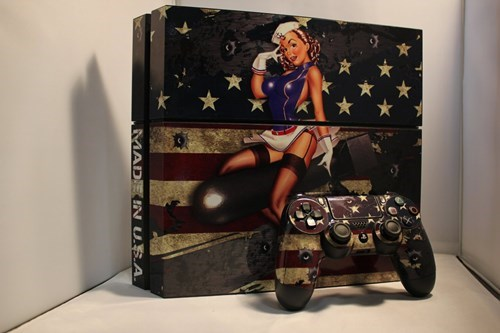 video games,PlayStation 4,pinup girls