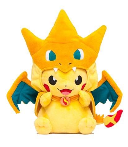 Pokémon Plush mega charizard Y cute pikachu - 8380690176