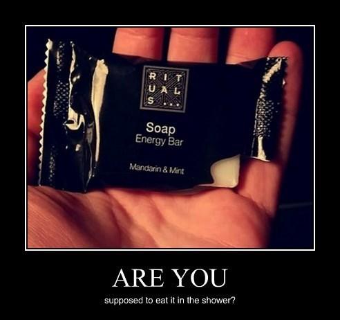 energy bar shower soap funny - 8380703232