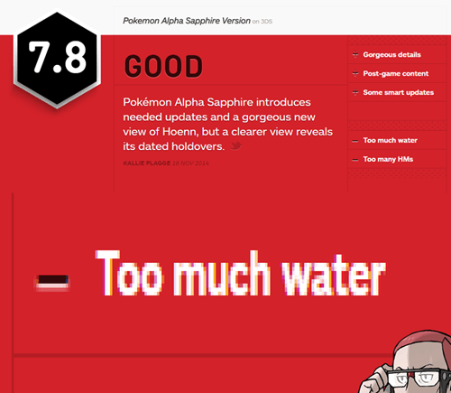 reviews,ORAS,gaming,too much water,IGN