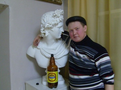 beer statue too drunk funny after 12 g rated - 8380768512