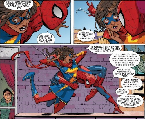 ms marvel Straight off the Page Spider-Man fangirl - 8380775424