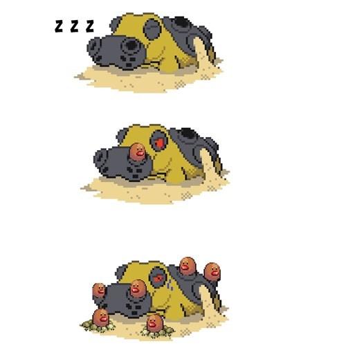 hippowdon Pokémon diglett wednesday diglett - 8380822784
