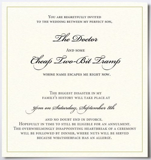 invitation,wedding,funny,parents,dating