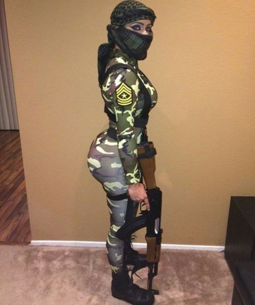costume US Army soldiers dat ass - 8380848640