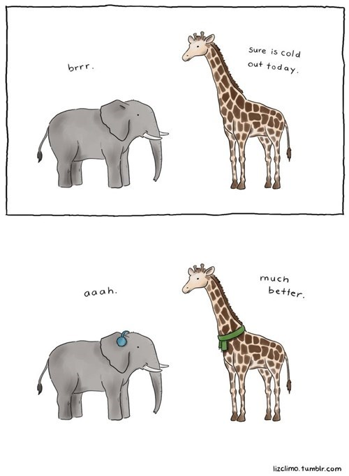 elephants giraffes web comics - 8380882688