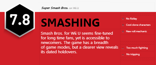 reviews,super smash bros,IGN,too much fighting,is this a joke?