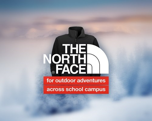 school poorly dressed north face honest slogans - 8381374976