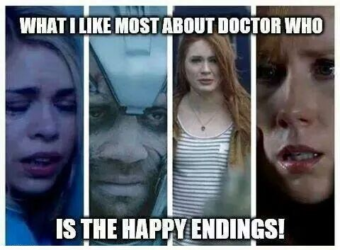 doctor who happy ending companion sarcasm - 8381408000