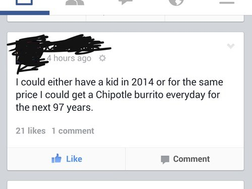 kids parenting chipotle facebook - 8381410048