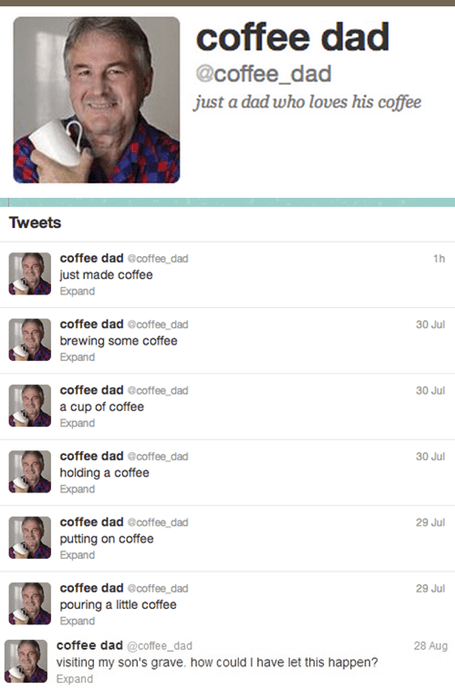 twitter,parenting,coffee dad