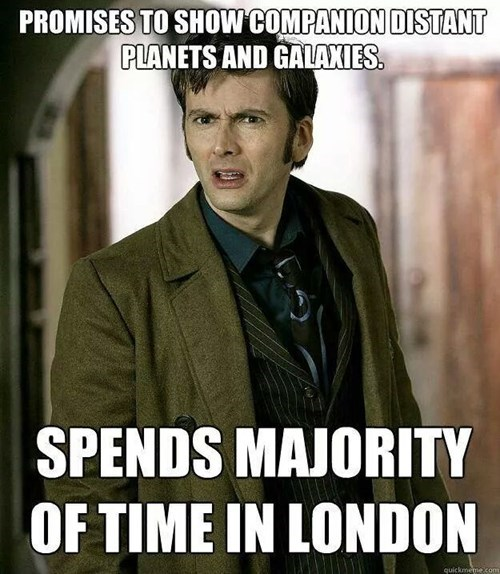 scumbag,London,the doctor,10th doctor