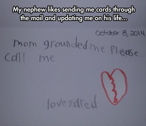 nephews kids letters note parenting - 8381445888