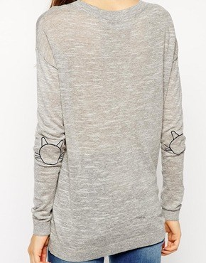 poorly dressed elbow sweater Cats - 8381461504