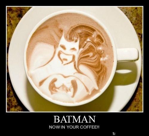 awesome coffee batman funny - 8381494272