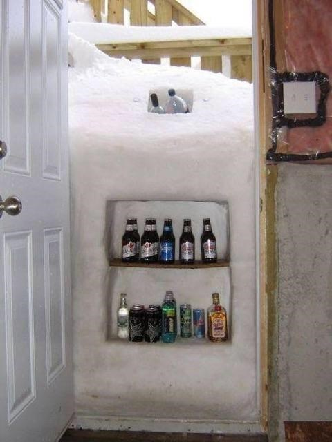 beer snow fridge funny after 12 g rated - 8381546240