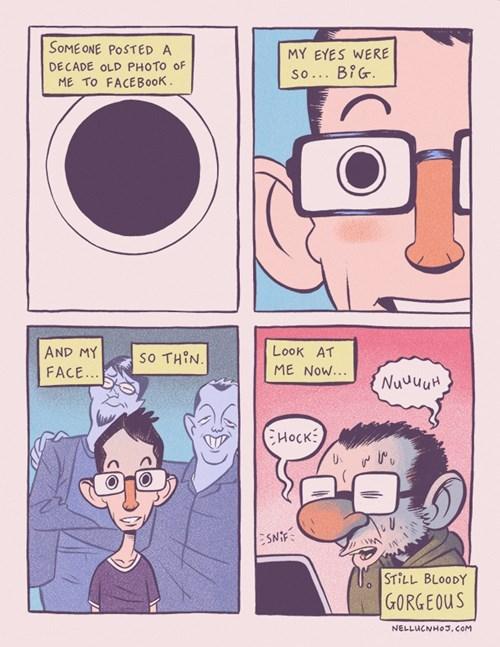 friends,facebook,web comics