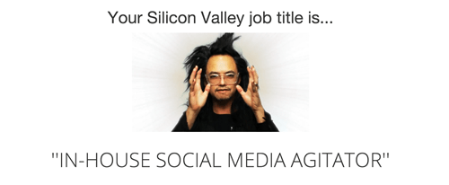 monday thru friday,Silicon Valley,job title,g rated