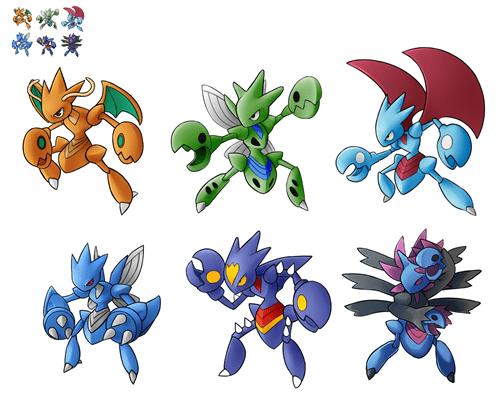 Pokémon fusions pokemon fusions scizor - 8381591552