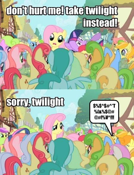 twilight sparkle sacrifice fluttershy - 8381600512