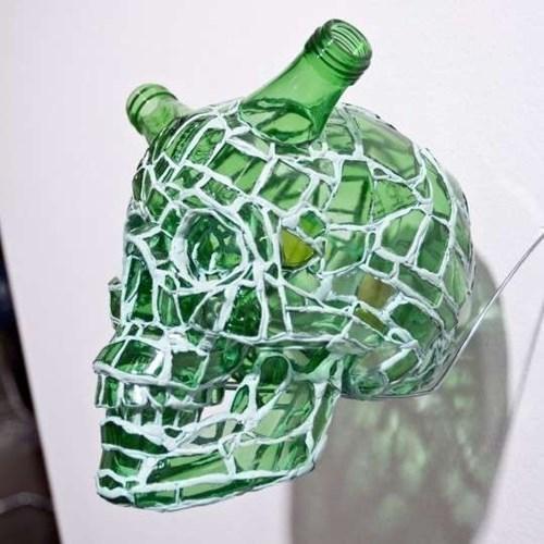 beer skull funny art - 8381614592