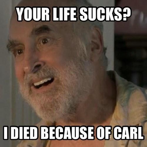 Dale Horvath,carl grimes,dead