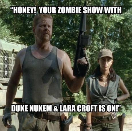lara croft abraham ford The Walking Dead - 8381629952