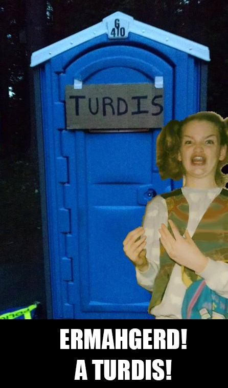 tardis puns port-a-pottie - 8381662720