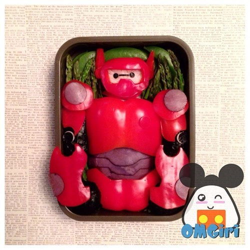 big hero 6,cute,bento,food